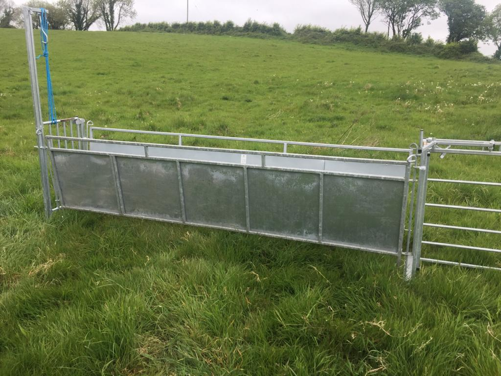 10' Sheeted Hurdle 1